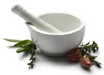 Weight Loss Supplements - Mortar and Pestle